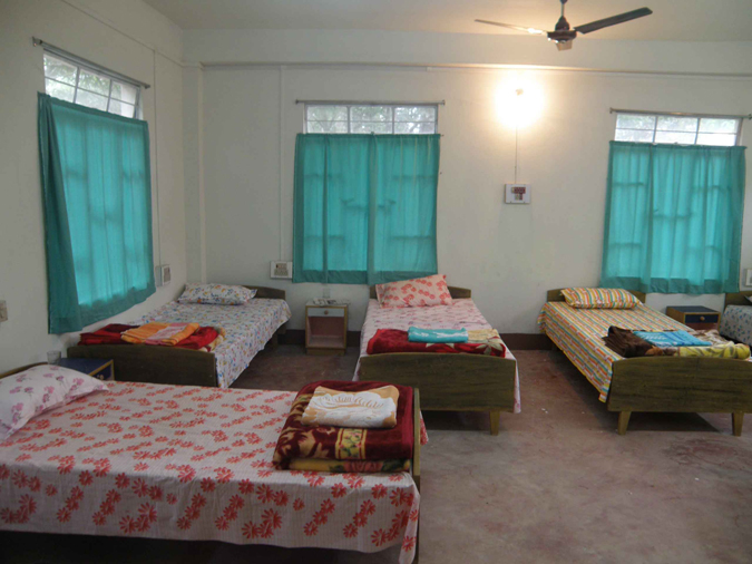 Hostel Room Image